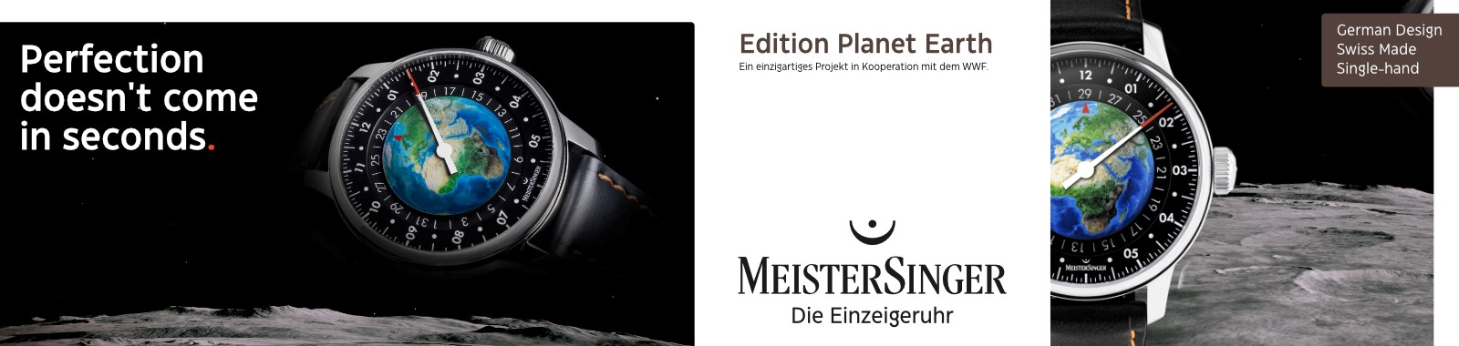 meistersinger banner earth watch