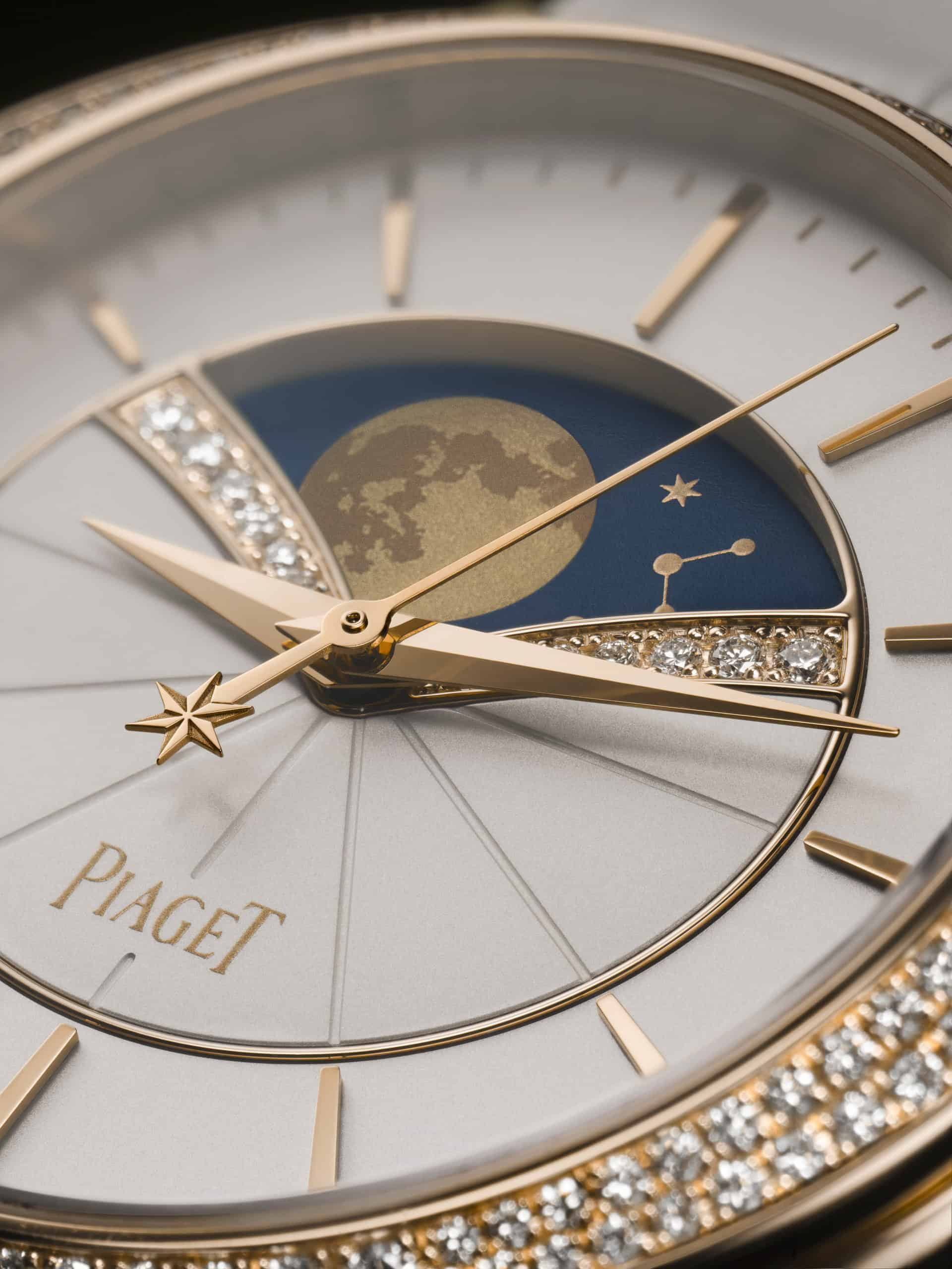 Auch in Nahaufnahme eine wirklich schöne und gelungene Uhr - Piaget Stella Limelight