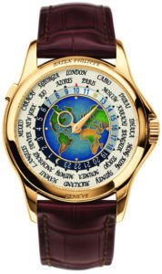 Patek Philippe Weltzeitindikation Gold