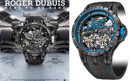 Ein Pirelli F1 Reifen gibt dieser Roger Dubuis Grip