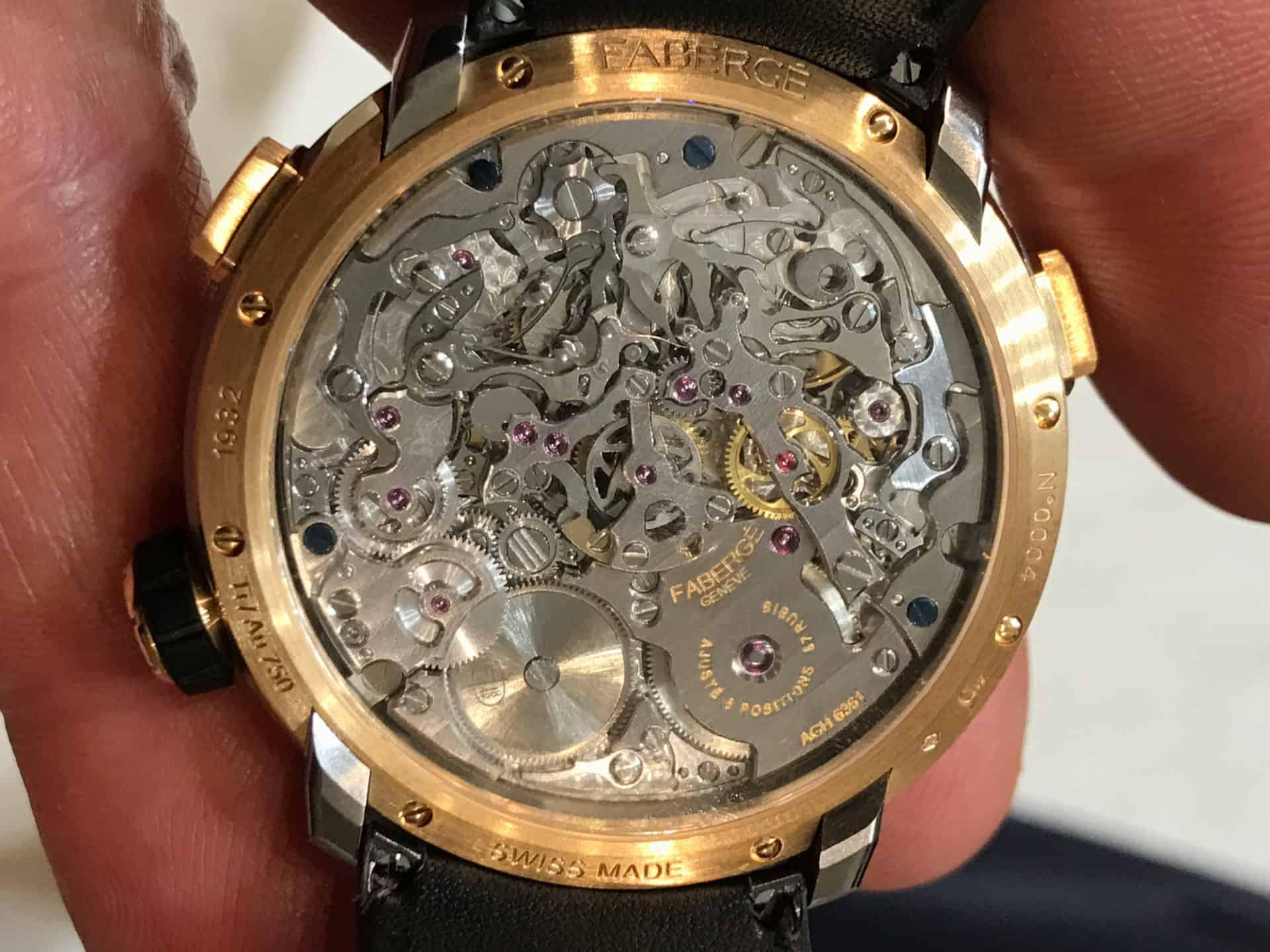 AgenGraph-Kaliber-6361, so heisst das aufwendige und komplizierte Uhrwerk des Visionnaire Chronograph