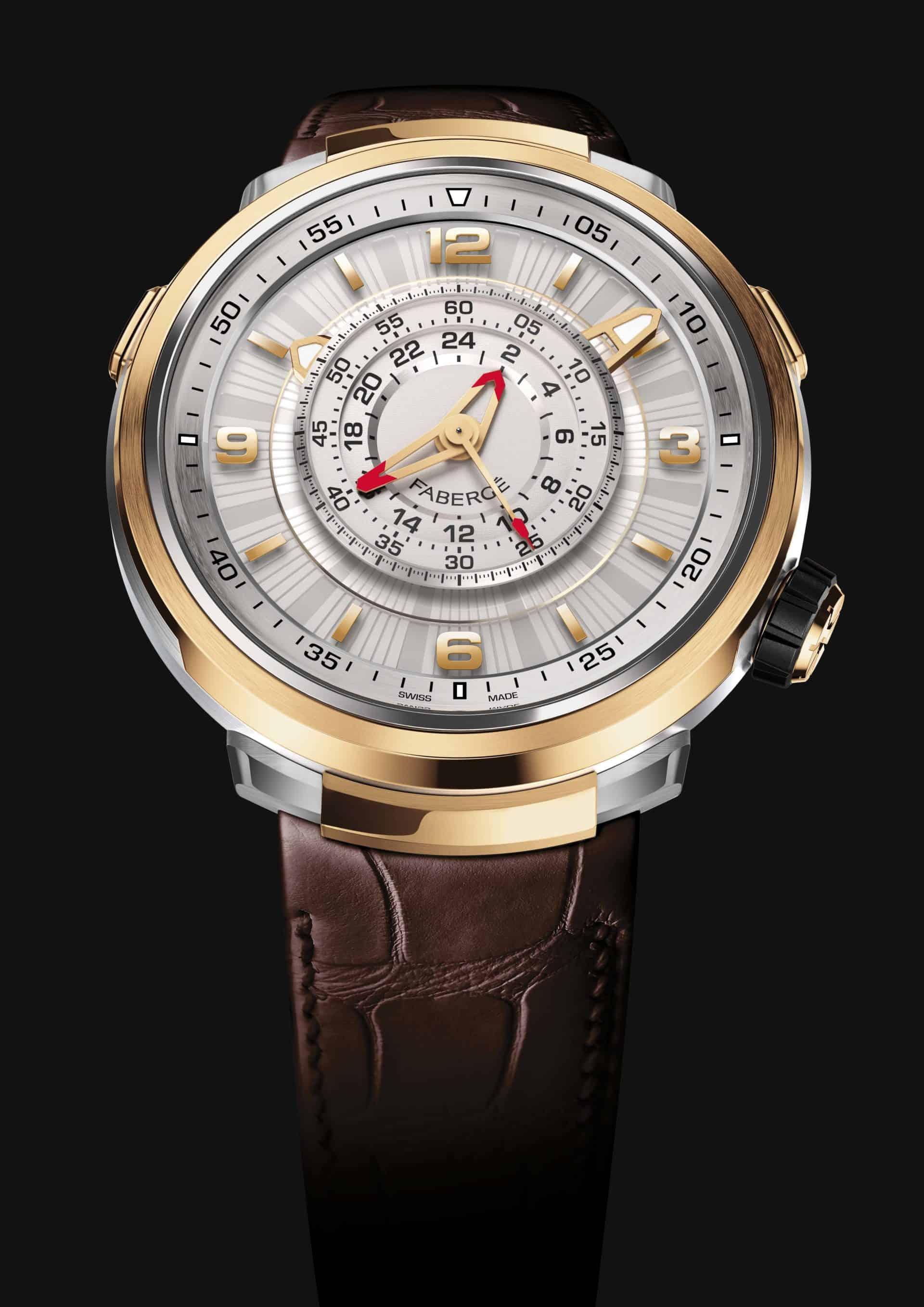 Der Fabergé Visionnaire Chronograph in Rosé-Gold ist eine Augenweide