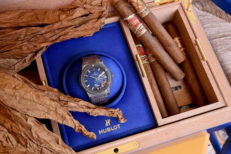 Die Partnerschaft von Fuentes und Hublot passt in eine Box. Wer würde solch ein Geschenk ausschlagen?