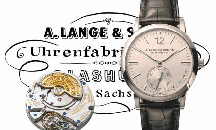 A. Lange & Söhne Langematik Sax-O-Mat: Ein Meilenstein der Uhrmacherkunst
