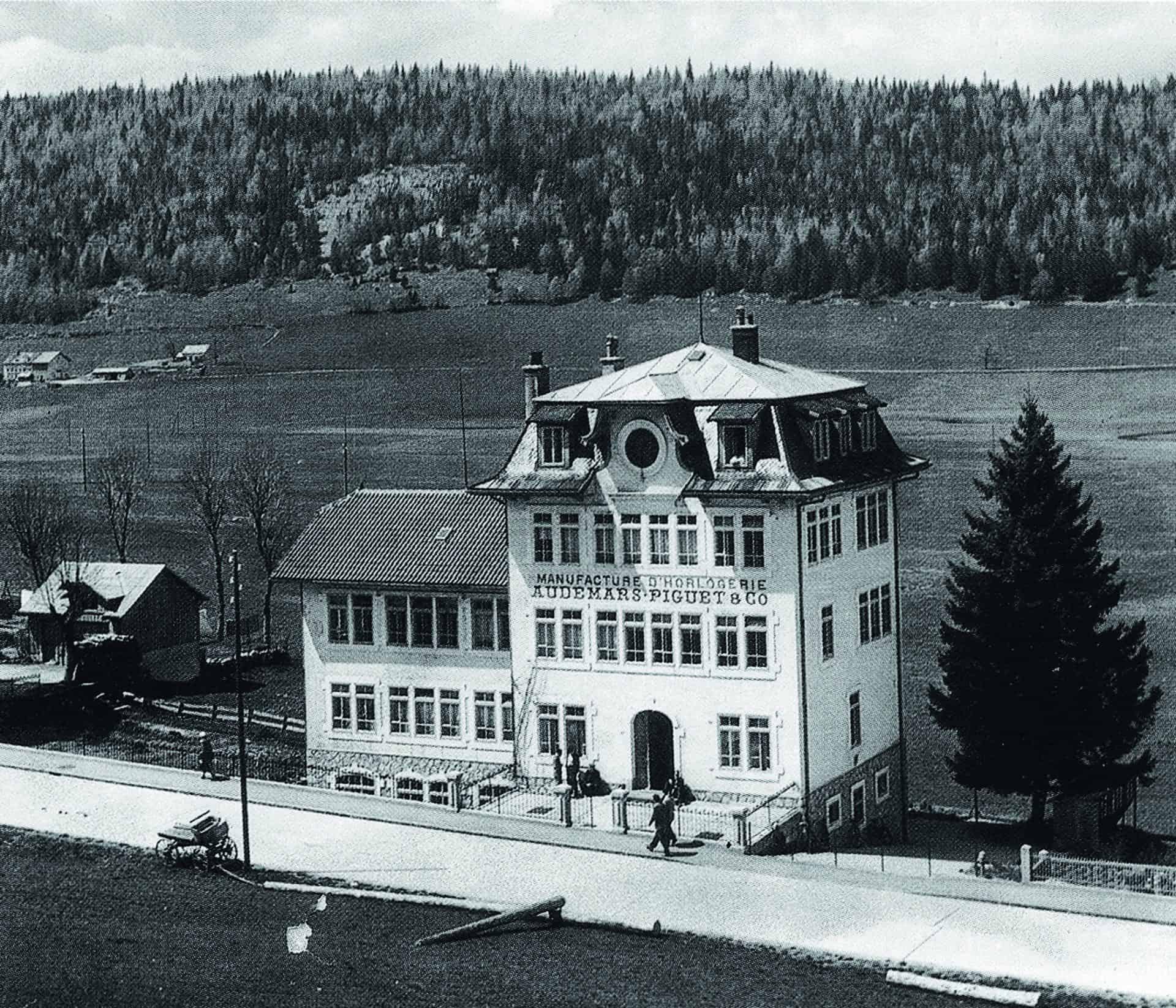Die historische Audemars Piguet Fertigungsstätte im Jahr 1907