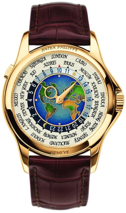 Der Luxusmarke steht die Welt offen und die Welt zu bereisen, ist sicherlich schöner mit dieser Weltzeituhr von Patek am Arm.
