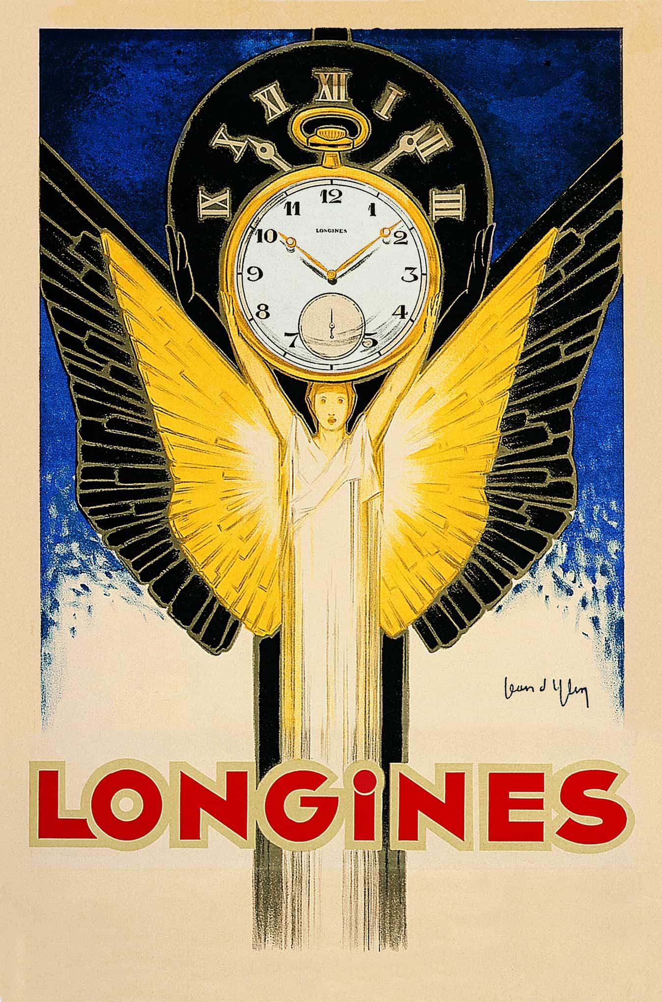 Die Marke Longines kann nicht nur auf eine lange Tradition zurückschauen, sondern kommunizierte bereits in frühen Jahren stark und eindrucksvoll