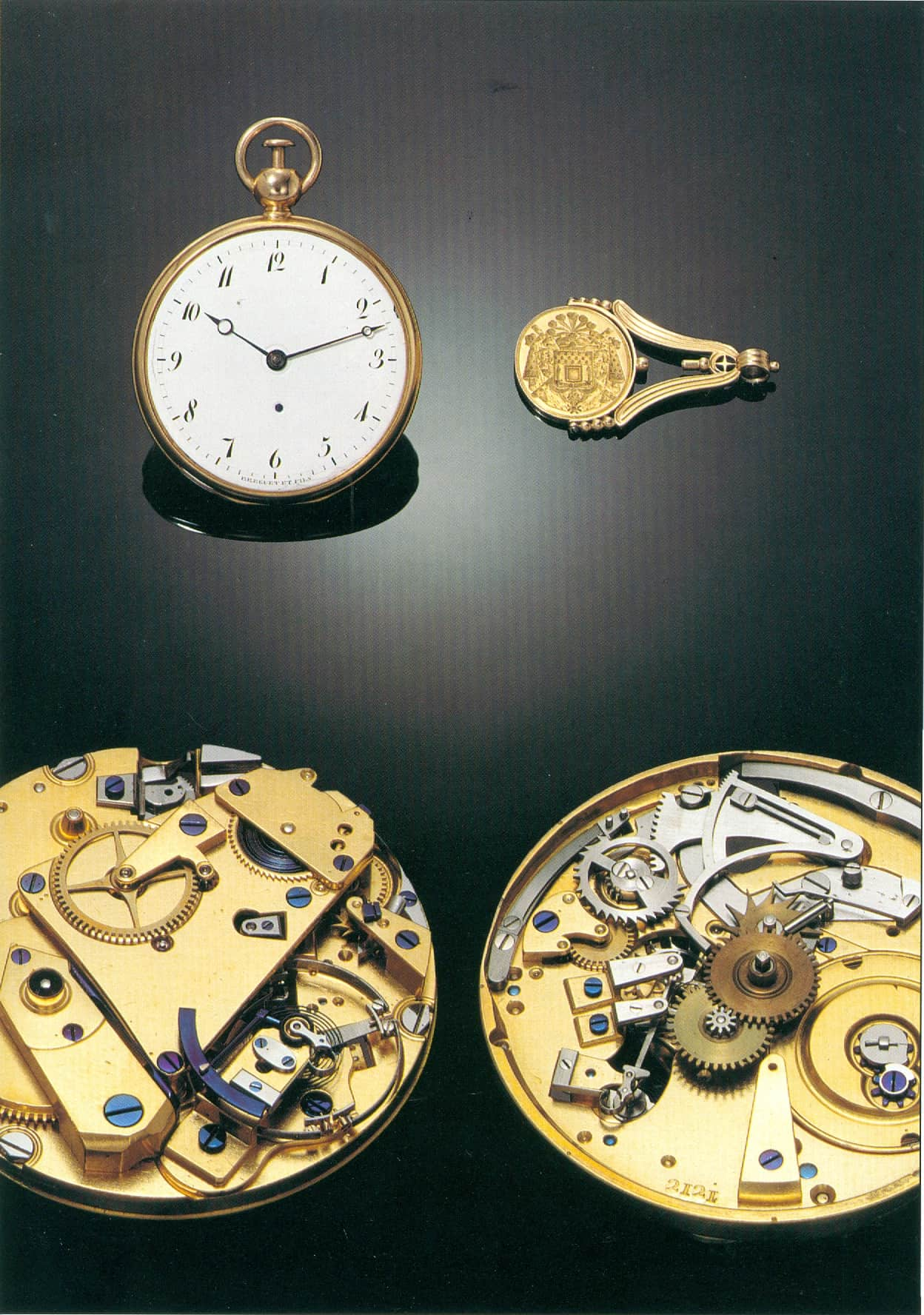 Breguet Taschenuhr 2121 mit Achtelrepetition