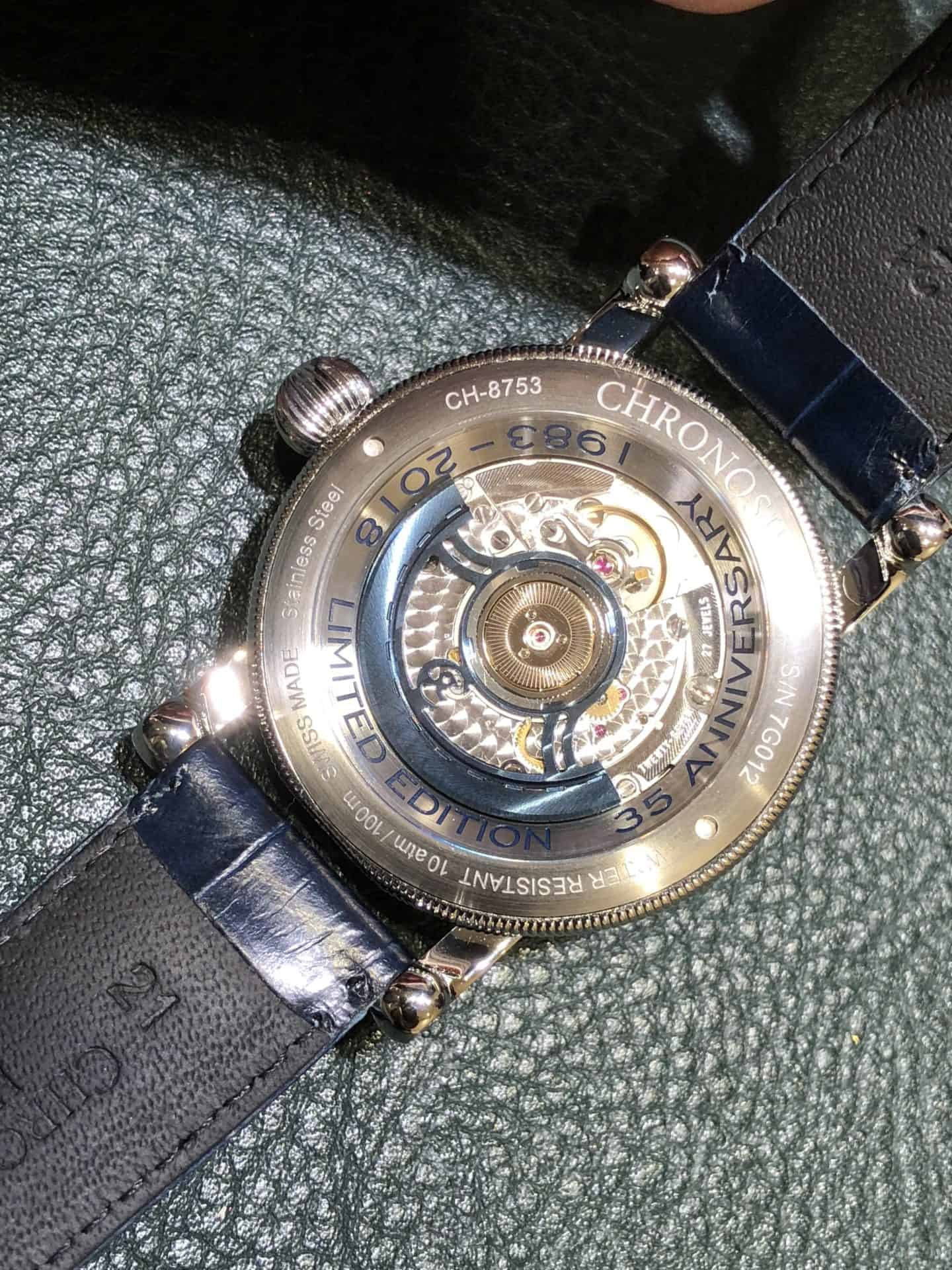 Chronoswiss Flying Regulator Open Gear Anniversary Edition 2018 02 Foto GL