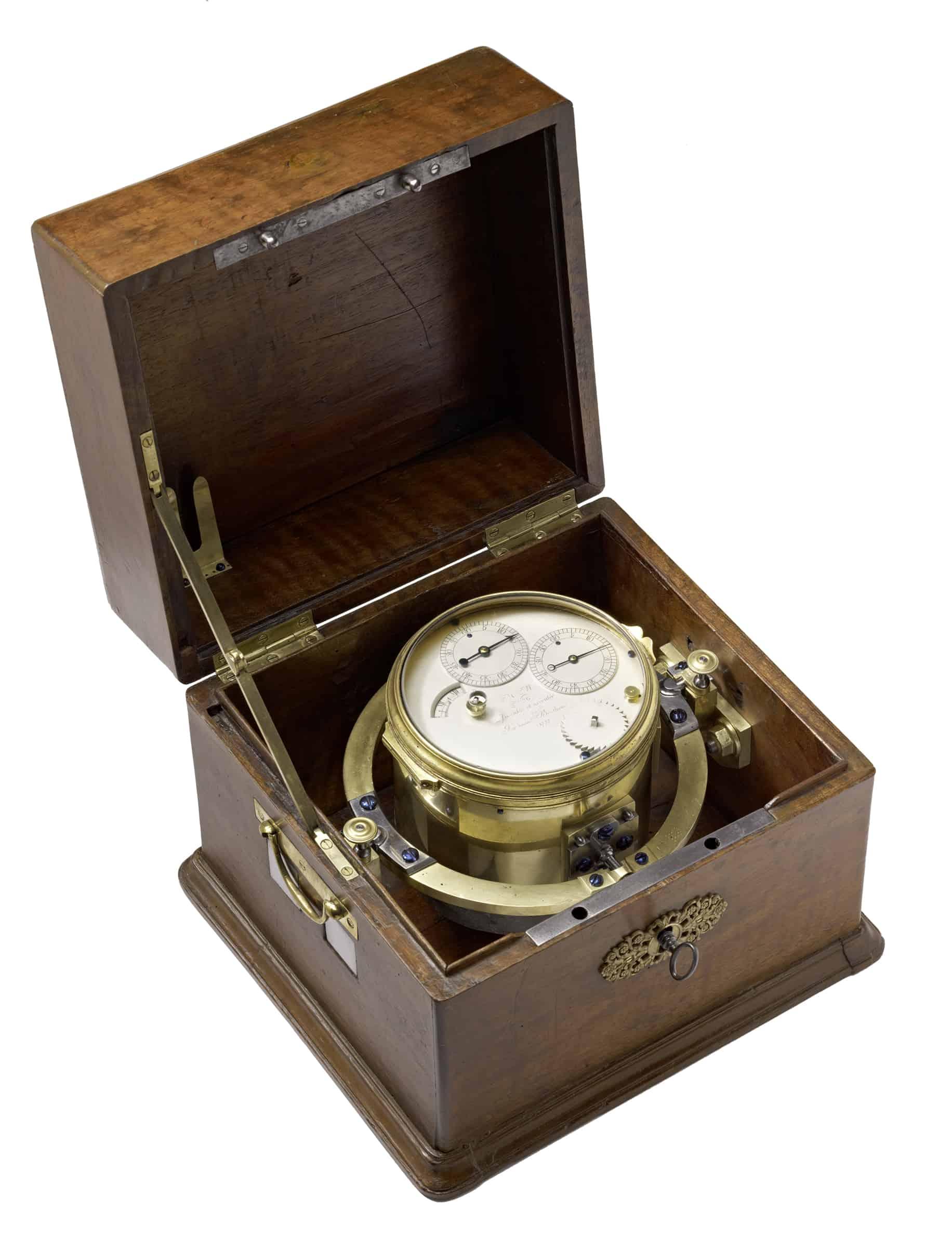Marinechronometer Ferdinand Berthoud 1777
