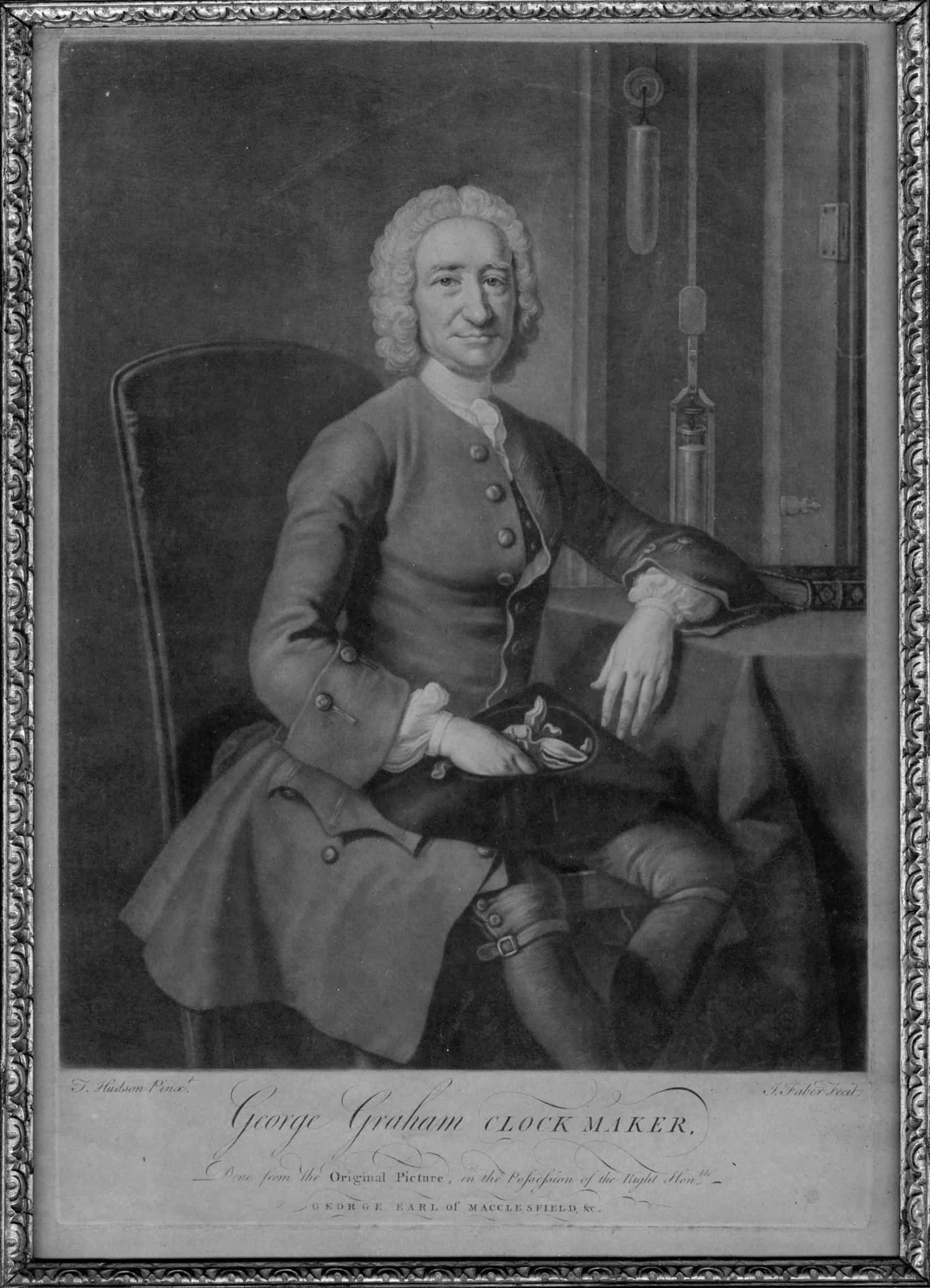 George Graham war Ende des 17. Jahrhunderts nicht nur der wohl beste Uhrmacher Englands, die von ihm entwickelte Ankeruhr revolutionierte den damaligen Uhrenbau