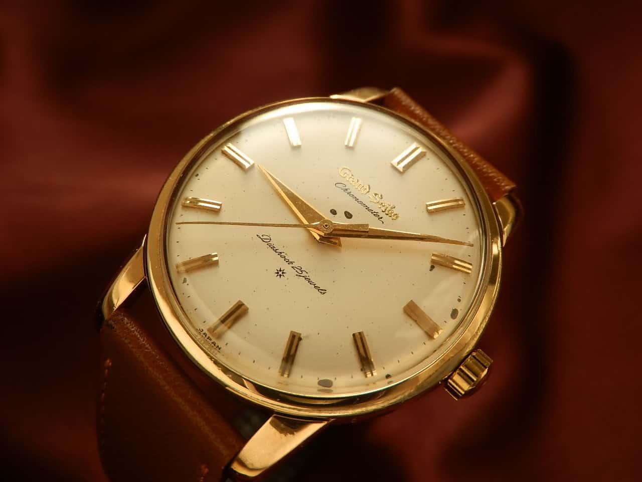 Dass Seiko vor dem Siegeszug der Quartzuhren hochwertige Armbanduhren produzierte, ist in Europa nicht weit verbreitet. Die Uhren hätten aber mehr Aufmerksamkeit verdient - wie diese Grand Seiko aus dem Jahr 1960