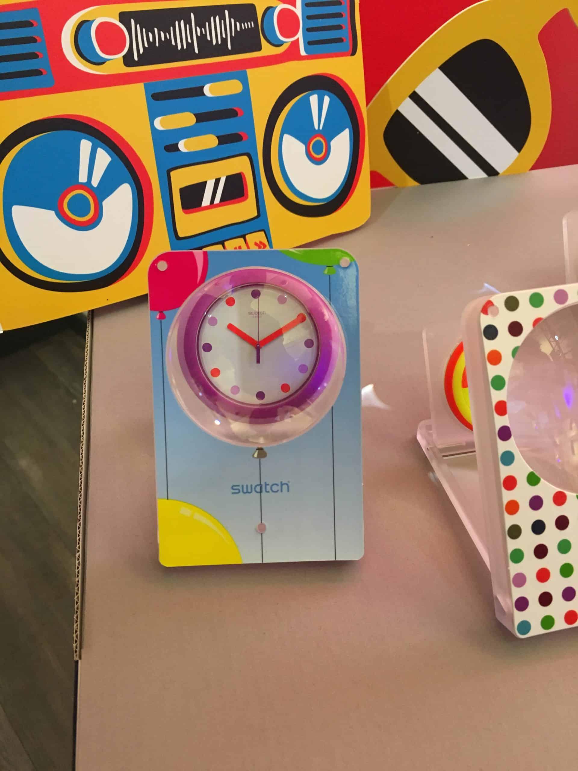 Die funktionale Variabiltät der Pop Watch von Swatch