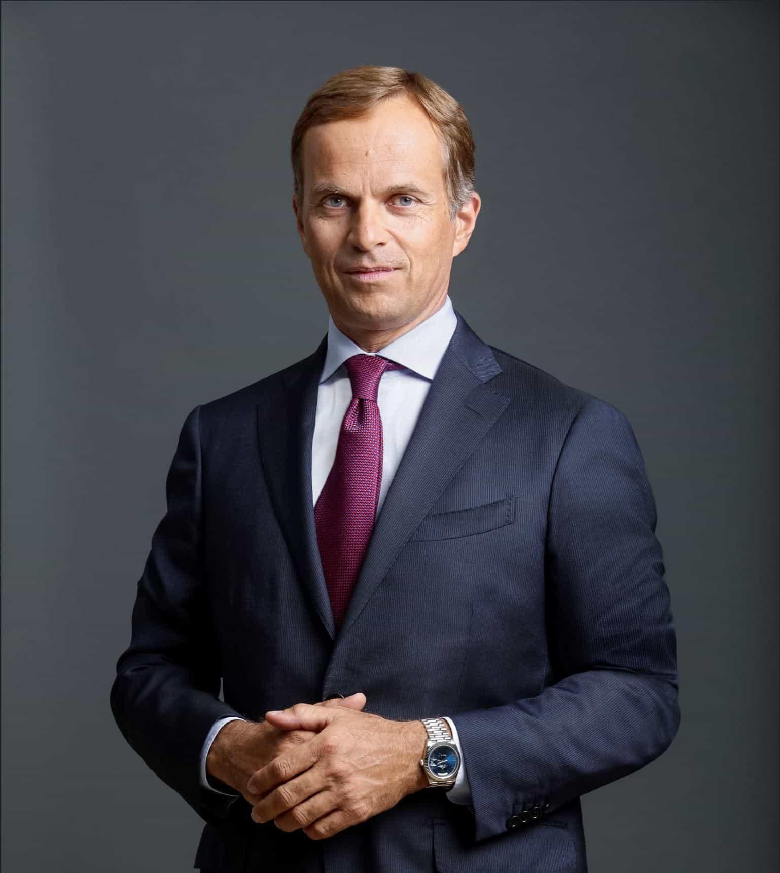 Mit Rolex und der Tochter Tudor führt Jean-Frédéric Dufour eine große Marke und viel Historie