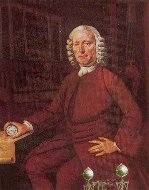 Der englische Uhrmacher John Harrison