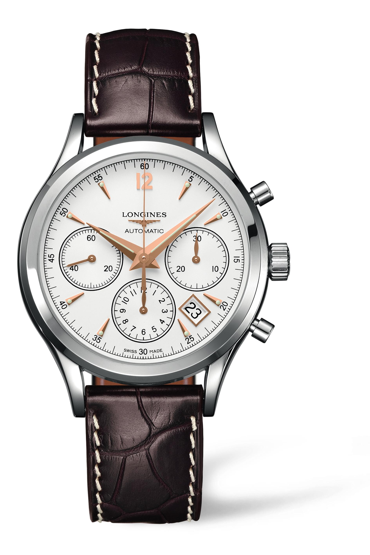 Auf den Punkt gebracht: Der Longines Chronograph zeigt, warum so viele Kunden die Marke und ihr ausgesprochen gutes Preis-Leistungsverhältnis schätzen