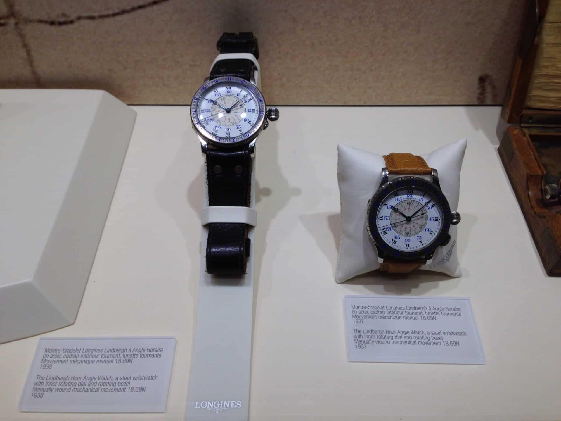 Für interessierte gibt es die Longines Uhren im Museum zu sehen