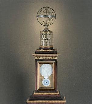 Das Meisterwerk von Antide Janvier ist eine Uhr mit sich bewegenden Sphären. Leider im Privatbesitz