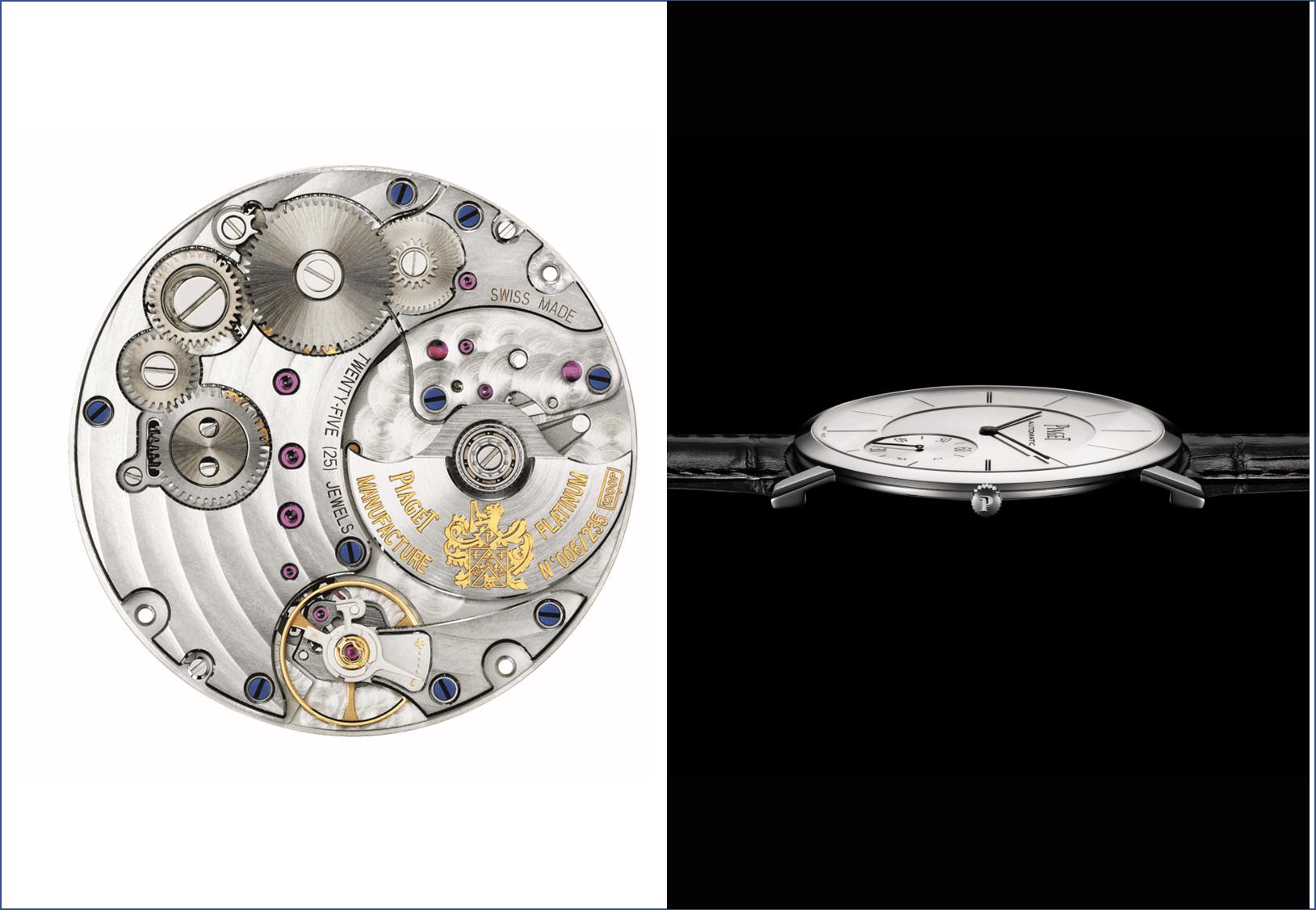 Piaget Altiplano Kaliber 12P und 1200PPiaget Altiplano: Die flachste Uhr der Welt
