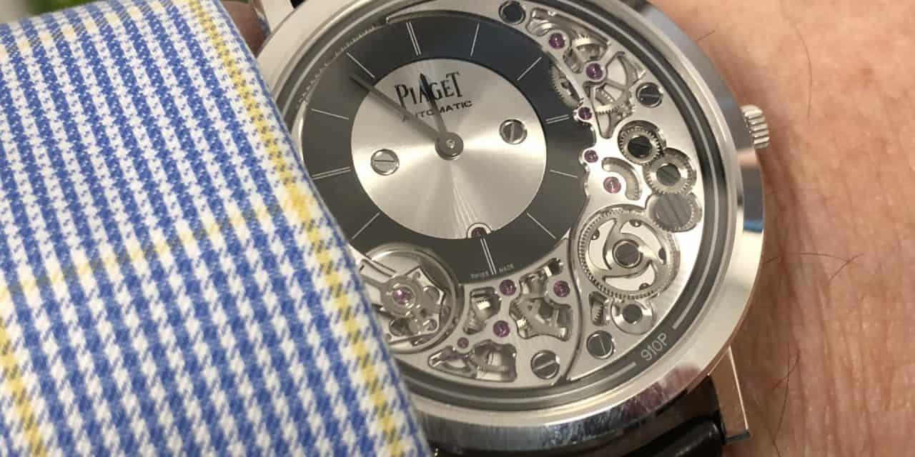 Piaget und Seiko trieben die Entwicklung der Quarz-Uhrwerke voran