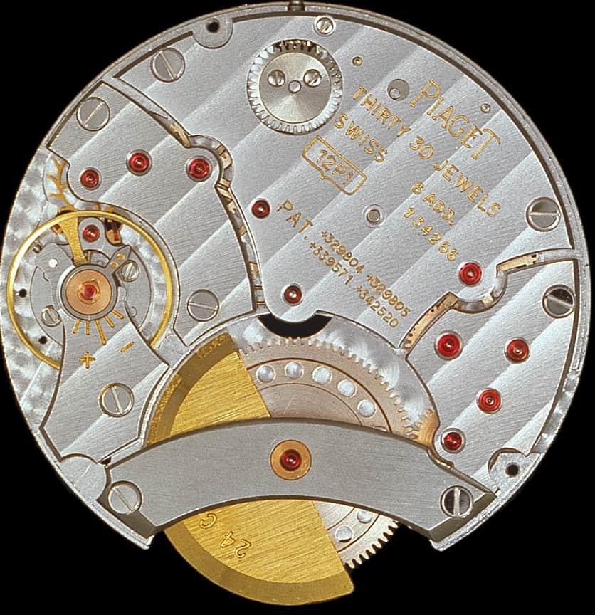 Das Piaget Kaliber 12P von 1960