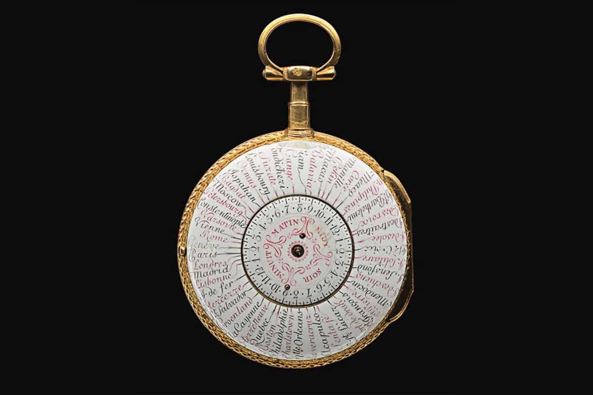 Im Museum Beyer steht die Weltzeituhr von Rouzier und Melly