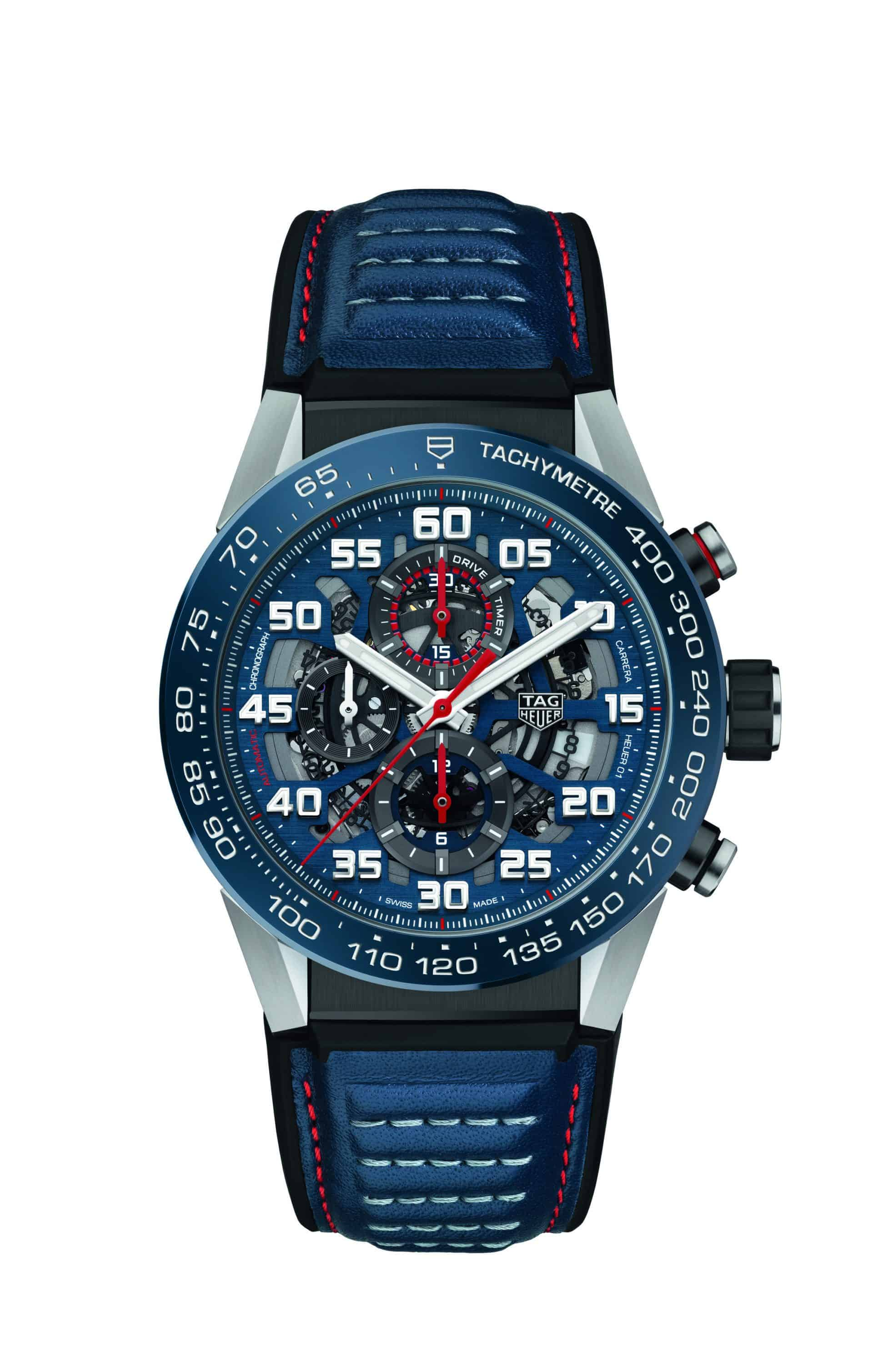 TAG Heuer Carrera Calibre Heuer 01 Special Edition Red Bull Racing 2017 (3)