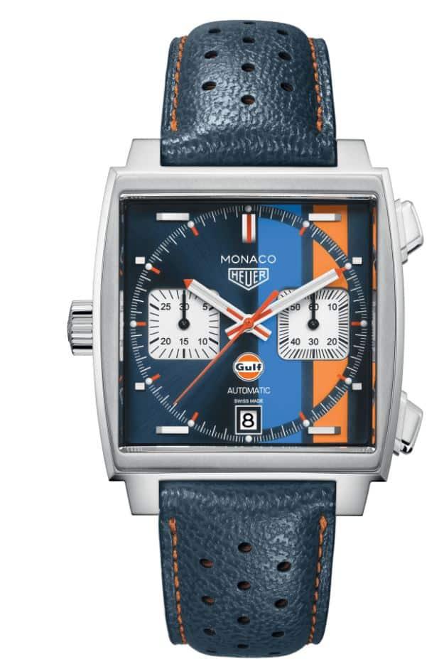 Heuer Monaco Gulf Edition von TAG Heuer für  6000 Euro