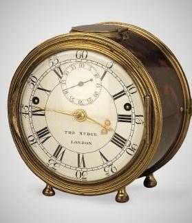 Die Minutenrepetition von Thomas Mudge - zu besichtigen im British Museum