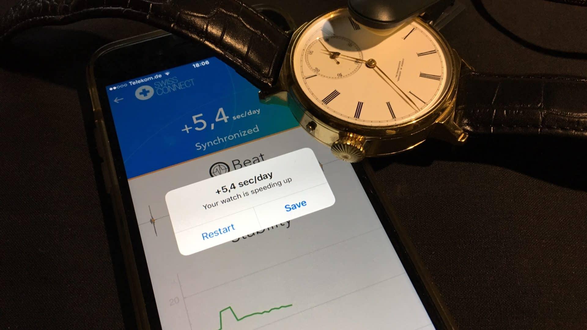 Digitaler Support um analoge Technik genauer zu machen - Apps machen es möglich