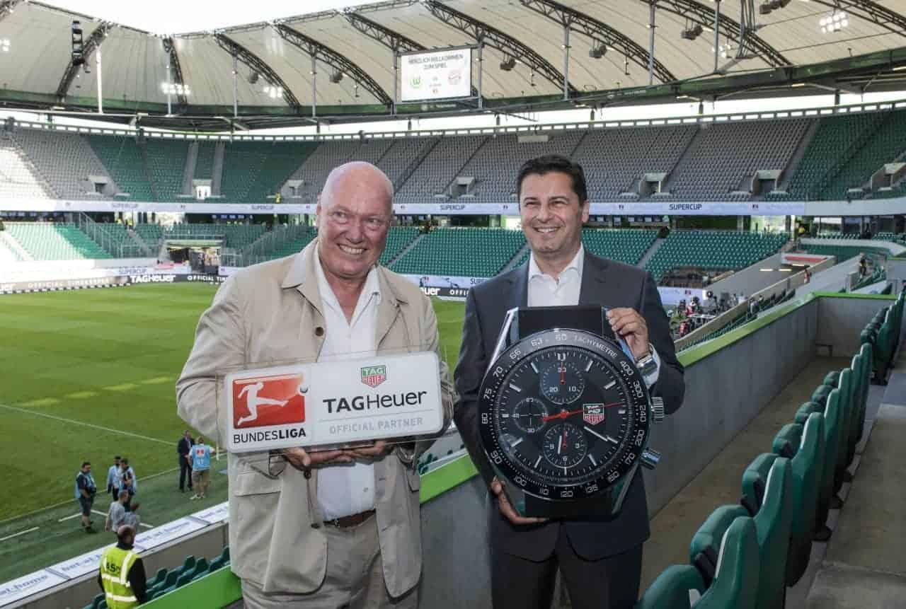 Was macht Jean-Claude Biver in der deutschen Bundesliga?