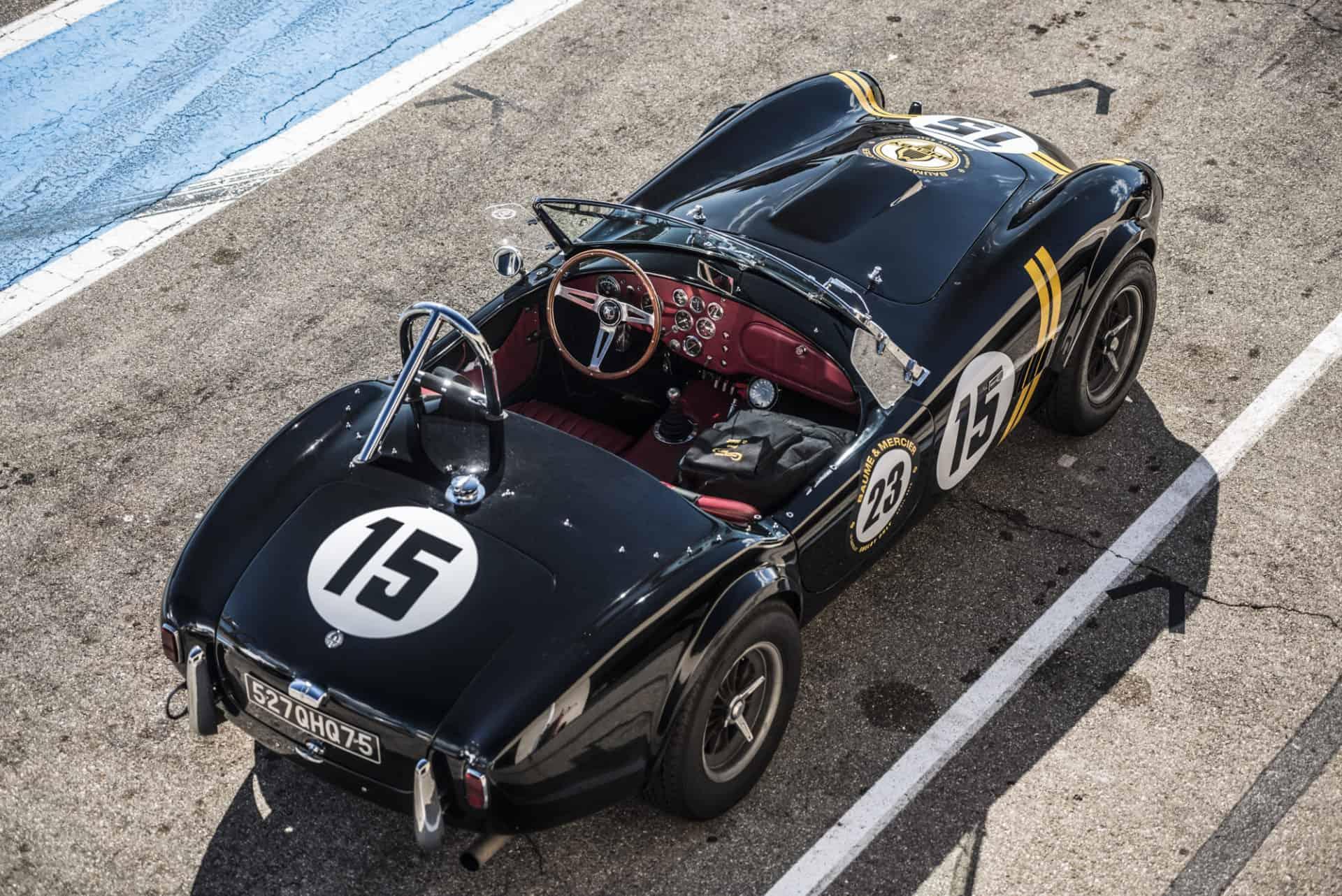 Die Shelby Cobra im original Racing Look