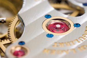 Uhrwerk mit verschraubtem Goldchaton - A. Lange & Söhne