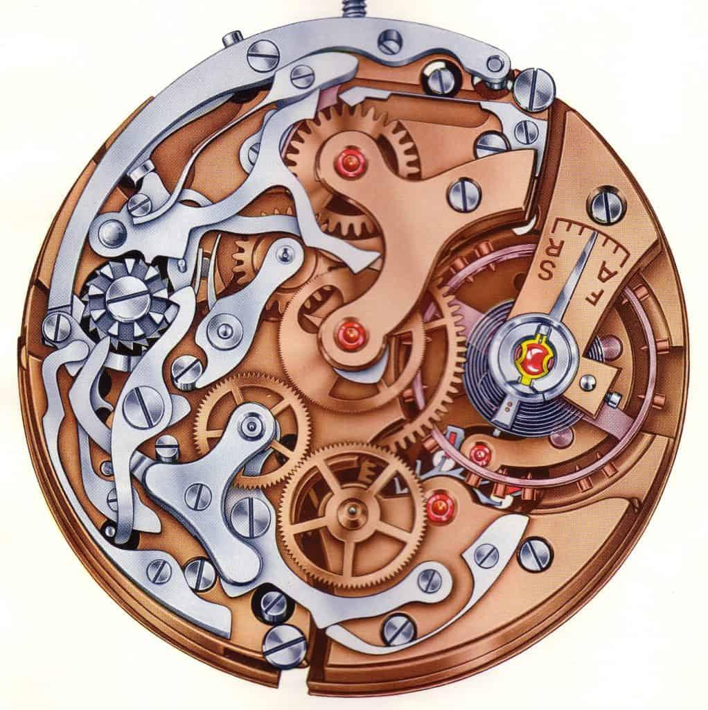 Schaltrad-Chronograph