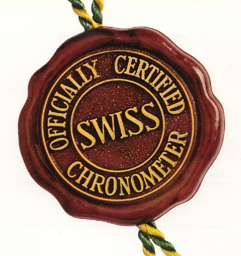 Das Schweizer Chronometer Siegel