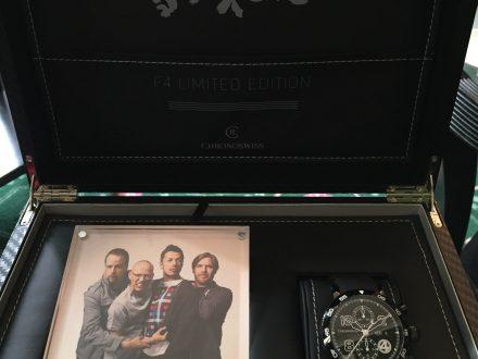 Die Fantastischen Vier und wie ihr Logo auf eine Chronoswiss kam