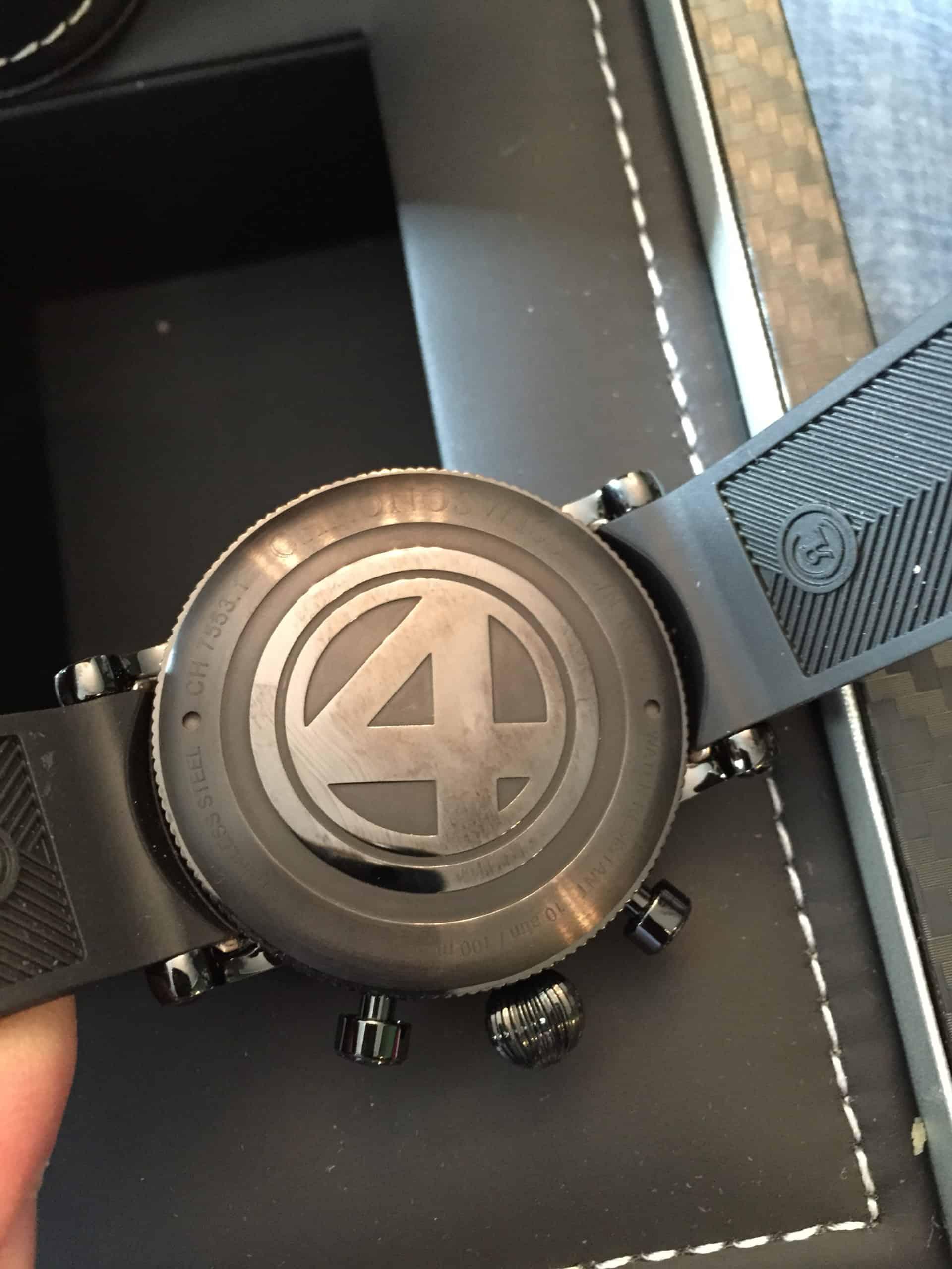 Chronoswiss TimeMaster Day Date F4 Gehäuserückseite 1