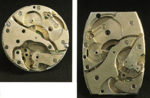 Ebauches rund und tonneauförmig