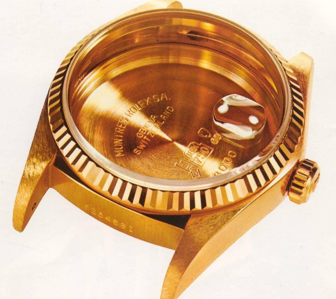 Datumslupe: So kam die Rolex Lupe aufs Uhrenglas