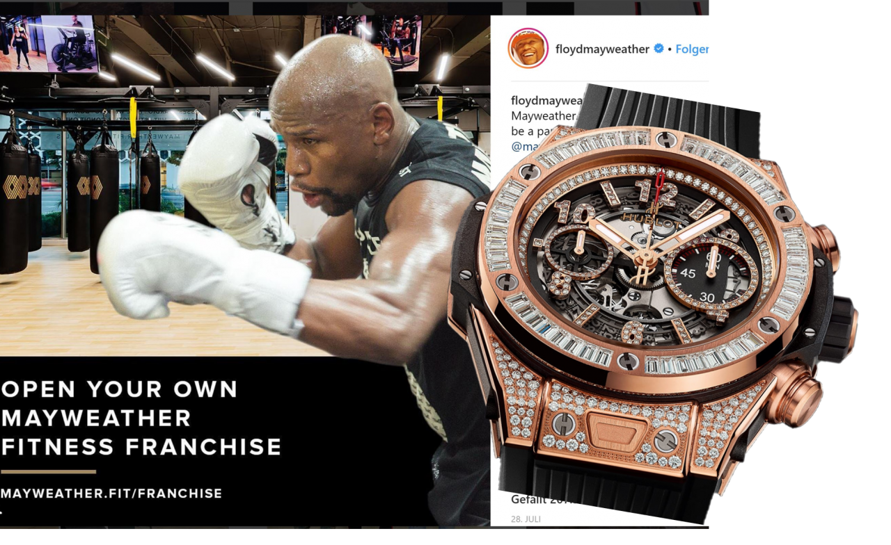 Money talks! Floyd Mayweather und seine Hublot Big Bang