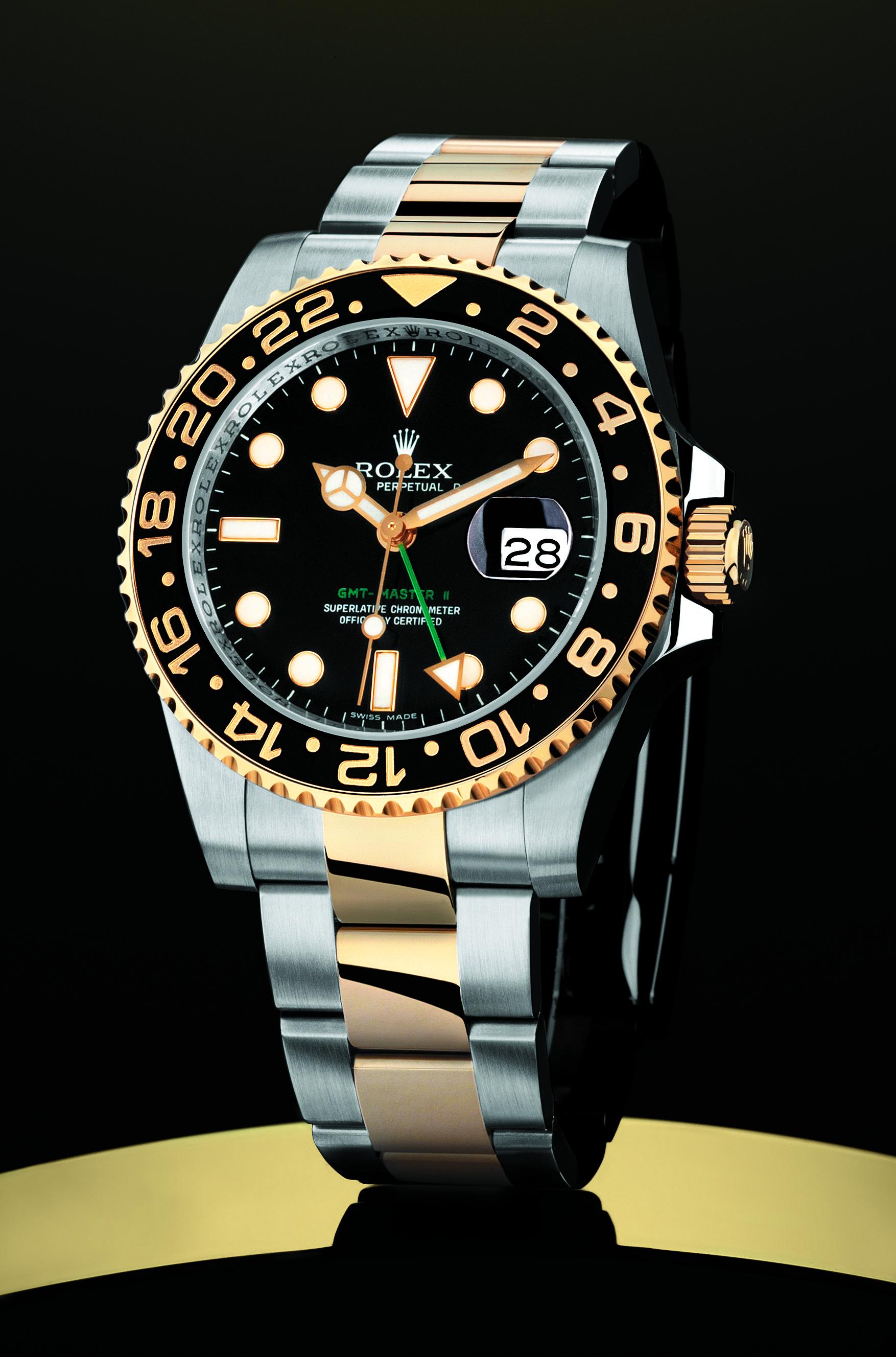 Uhren wie die GMT Master II sind Mythos und begehrt wie eh und je