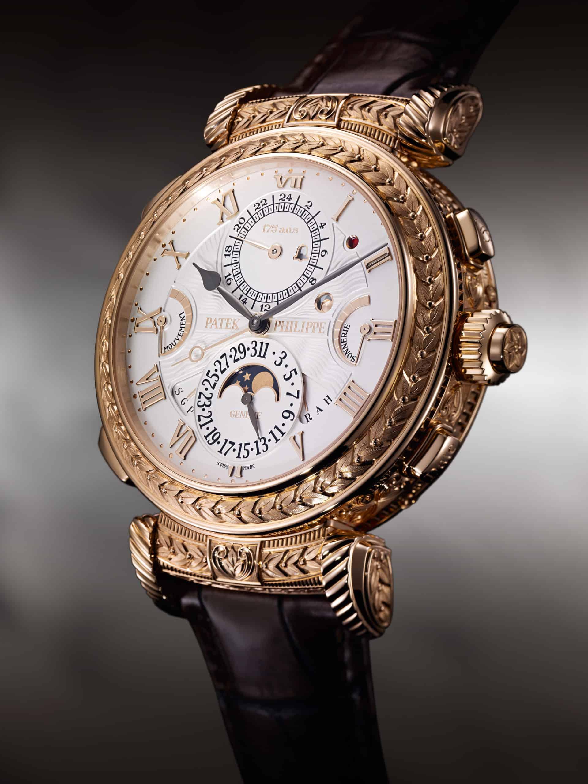 Diese Uhr soll zeigen, was in der Uhrmacherei möglich ist - wenn man Patek Philippe heisst!