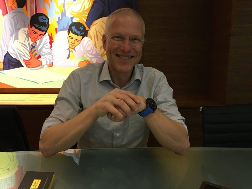 Ob Smartwatch oder nicht, Jean-Paul Girardin, COO von Breitling ist sicher als smarter Manager zu bezeichnen