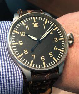 IWC Fliegeruhren Big Pilot, Mark 1 und Pilot`s HeritageBig? Real Big! die IWC Big Pilot's Heritage Watch 55 und ihre Geschichte