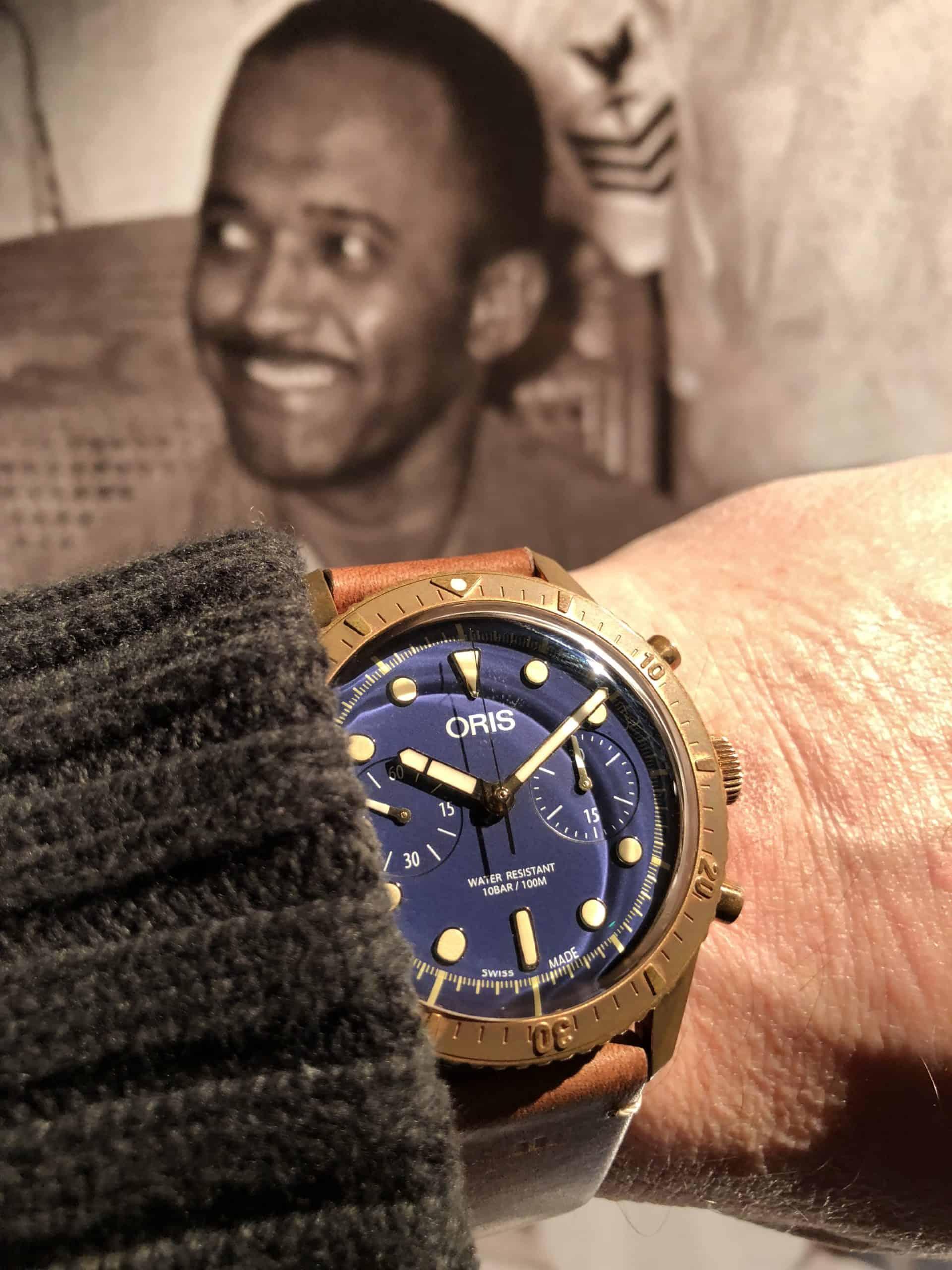 Bronze-Taucheruhr Oris Divers Sixty-Five Carl Brashear
