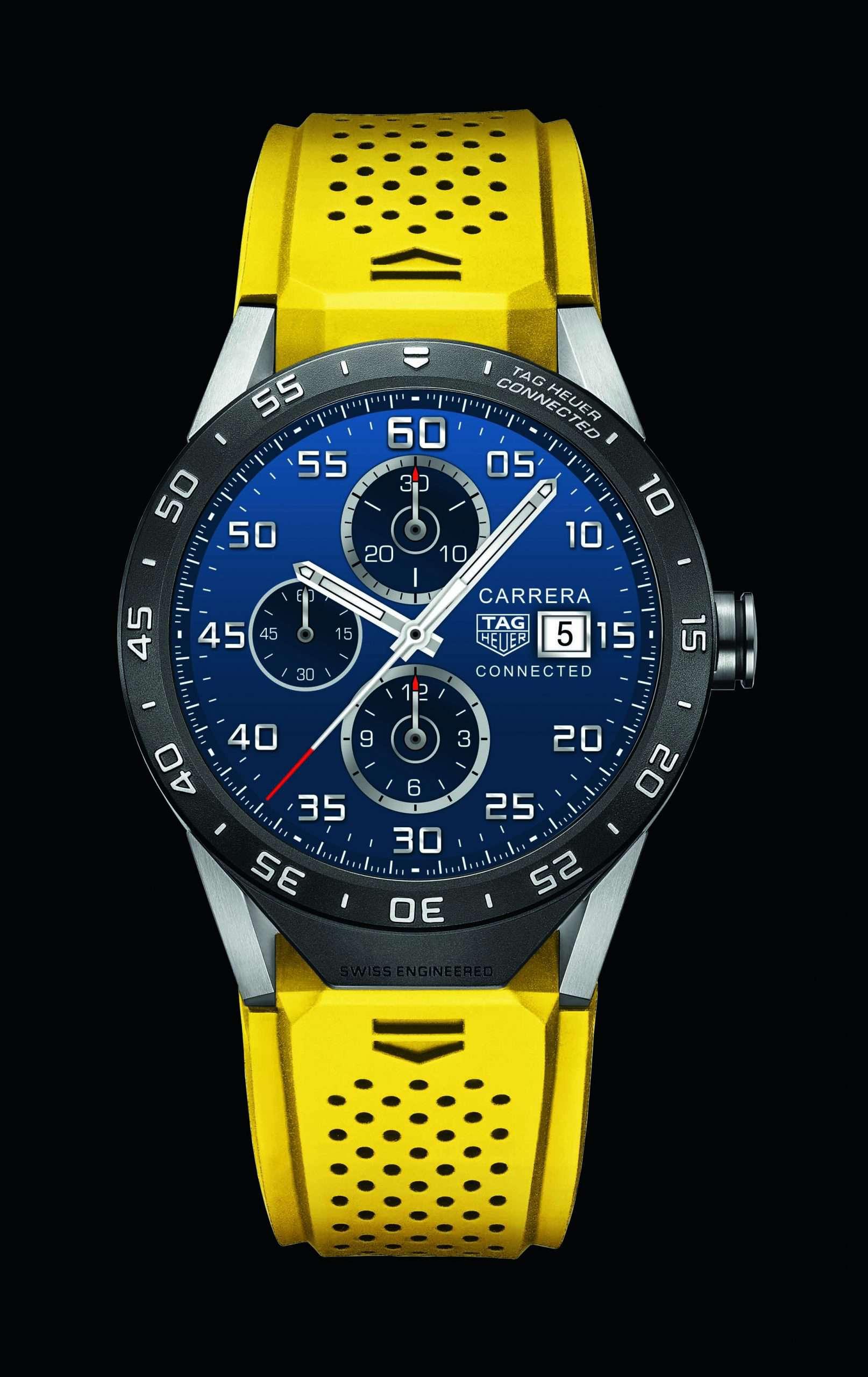 Smartwatches von LuxusmarkenSmartwatch Luxusuhren von TAG-Heuer, Alpina und Hublot
