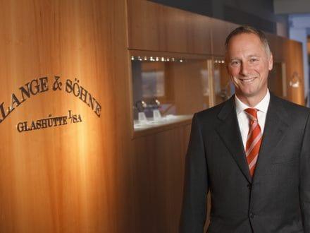 Portraitaufnahme – Wilhelm Schmid, CEO der Uhren-Manufaktur A. Lange & Söhne