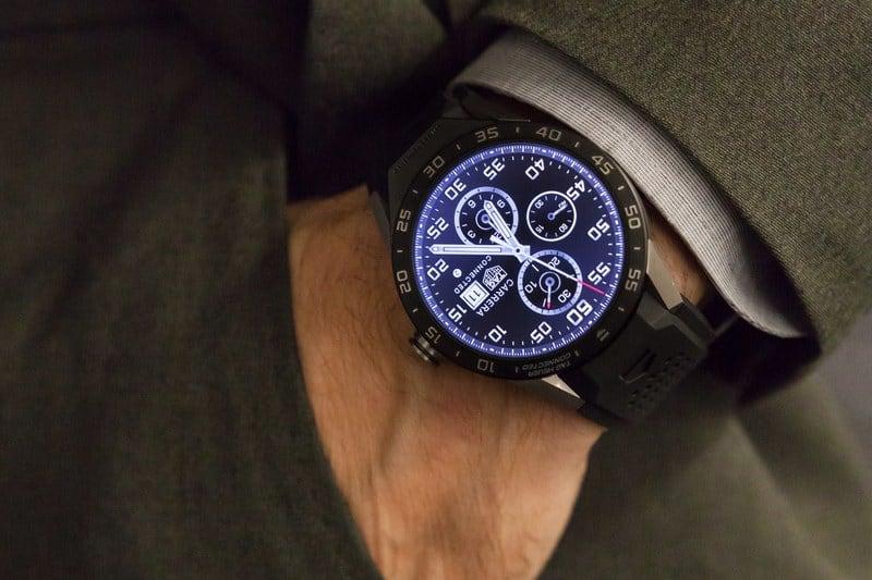 Die TAG Heuer Connected Watch die Jean Claude Biver lancierte