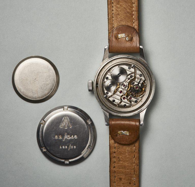 Das Werk der Mark XI umgibt ein Weicheisen-Innengehäuse zum Schutz vor Magnetisierung Bild Uhrenkosmos