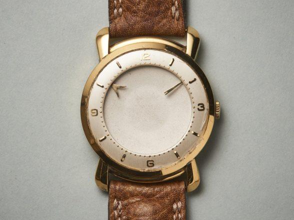 Vintage UhrMysterieuse Uhr: Eine revolutionäre Zeigerform und doch blieb diese Uhr unvollendet